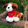 Puppy Soft Toy with Bandana