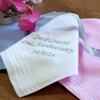 Embroidered Message Handkerchief